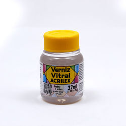 Verniz Acrilex Vitral Incolor Ref.08140 - c/37ml