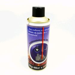 Spray de Silicone Industrial 250 g / 400 ml - un